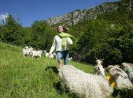 Découverte de la ferme (Copyright : La Ferme de la Montagne)