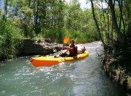 Durance canoe (Copyright : Benjamin Genevrier)