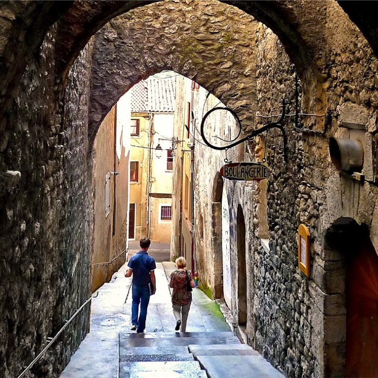 Visite dans la ville de Sisteron
