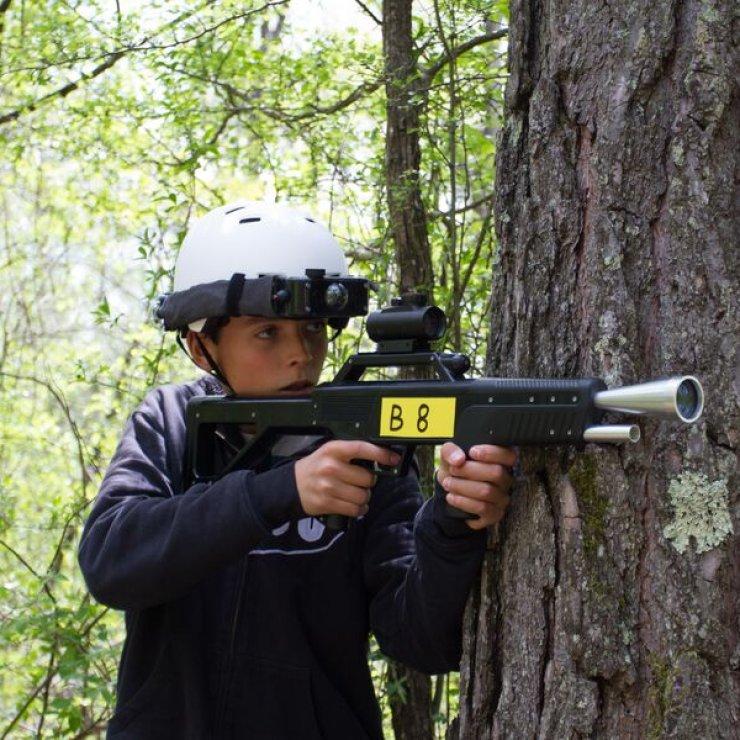 Laser Game en Forêt au plan d'eau des Iscles à Veynes - Laser Game en Forêt au plan d'eau des Iscles à Veynes