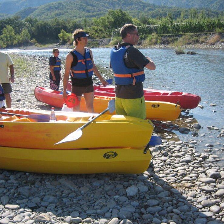 Sortie en canoé - Randonnée aventure (Copyright : RCKN)