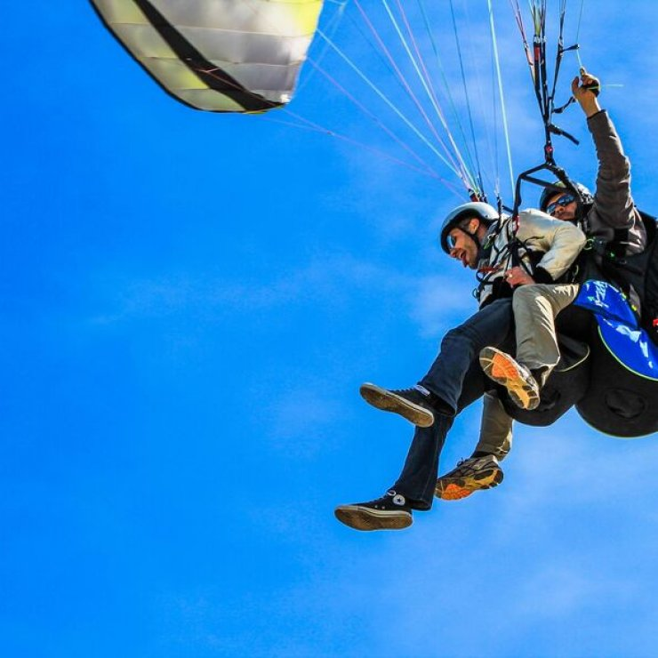 Full Blue Sky - Parapente vols en tandem (Copyright : Full Blue Sky)