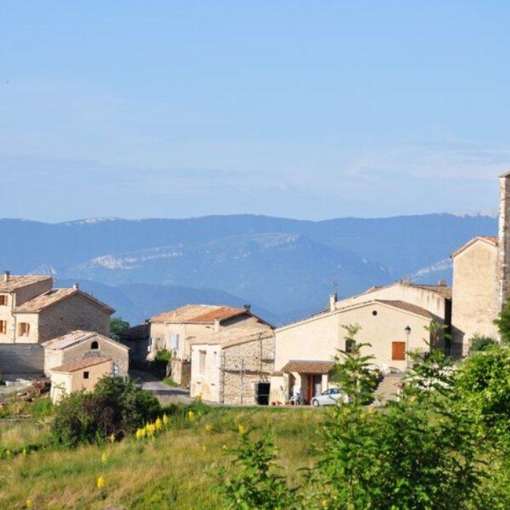 Circuit cyclo Les Balcons de la Durance - Hautes Terres de Provence (Copyright : Office de Tourisme des Hautes Terres de Provence)