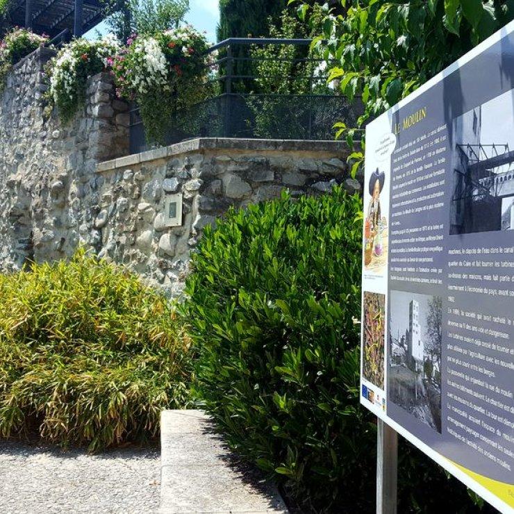 Sentier de découverte du patrimoine de Laragne - Le Moulin (Copyright : Office de Tourisme Sisteron Buëch)