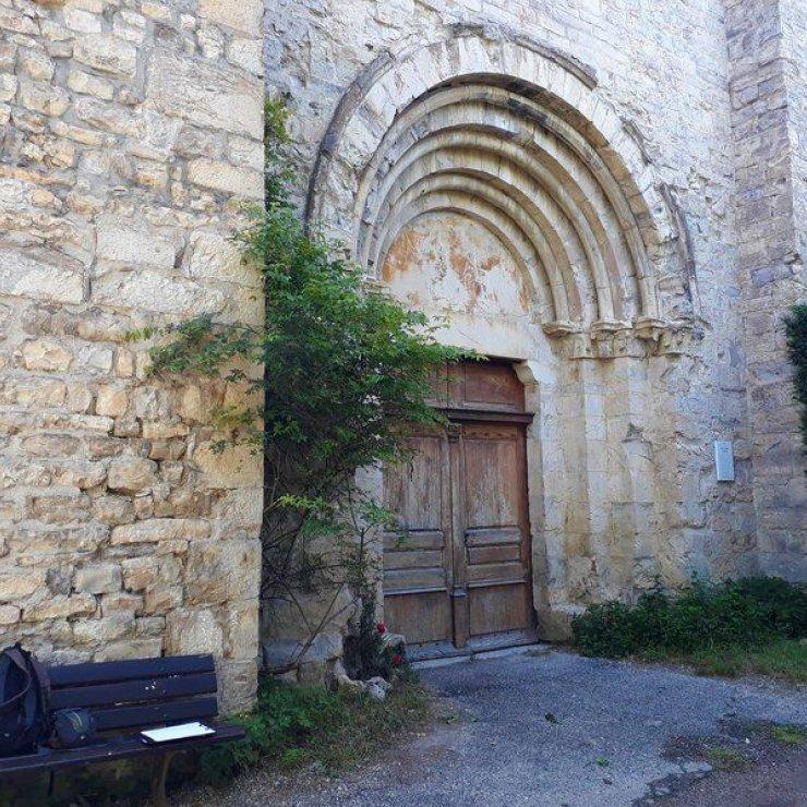 """Itinéraire de rando """"Tour du Riable"""" - Notre Dame de Calma (Copyright : Communauté de Communes Sisteronais Buëch)"""