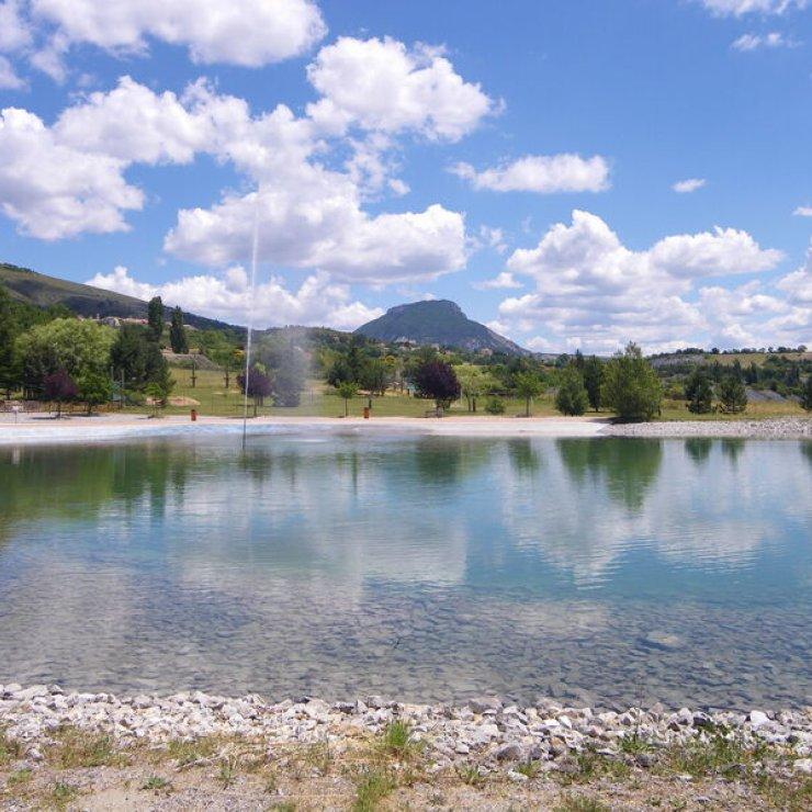 Plan d'eau de Rosans - Espace de baignade (Copyright : Mairie de Rosans)