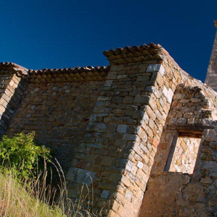 Itinéraire de rando - La chapelle Saint Cyrice (Copyright : Thierry Robin)