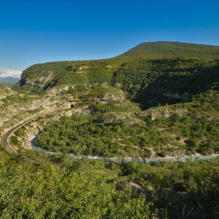 Circuit cyclo Le Tour de Chabre - Les Gorges de la Méouge (Copyright : Ricardo FLores Espinosa)