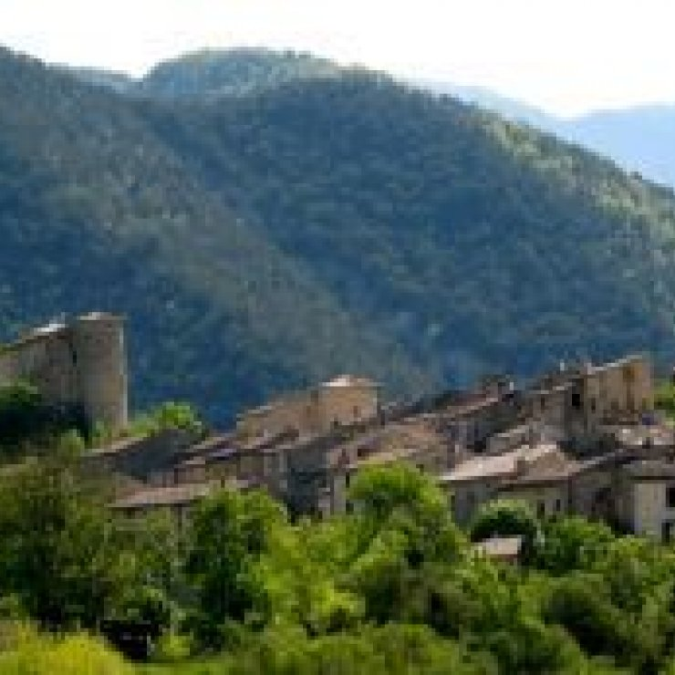 Circuit cyclo Les Préalpes - Village de la Charce (Copyright : Office de Tourisme Sisteron Buëch)
