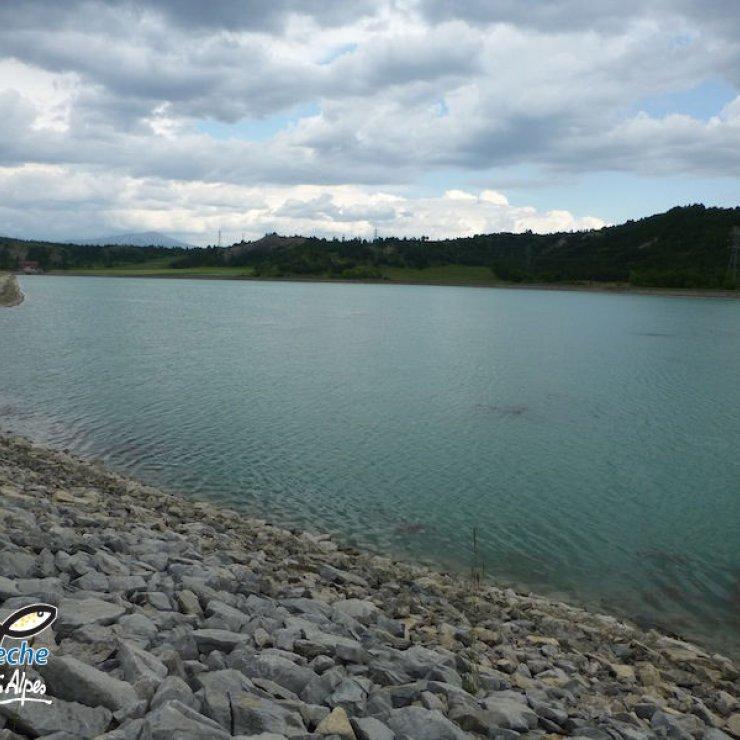 Lac de pêche - Lac de Lazer (Copyright : Fédération de pêche des hautes Alpes)