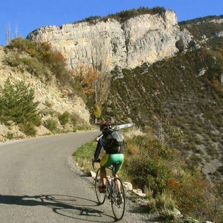 Circuit cyclo le tour du Duffre - Secteur de la vallée de l'Oule (Copyright : Communauté de Communes Sisteronais Buëch)