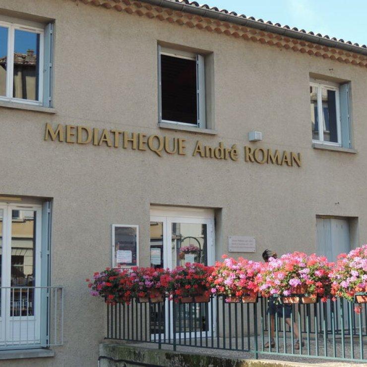 Médiathèque à Sisteron (Copyright : Médiathèque André Roman)