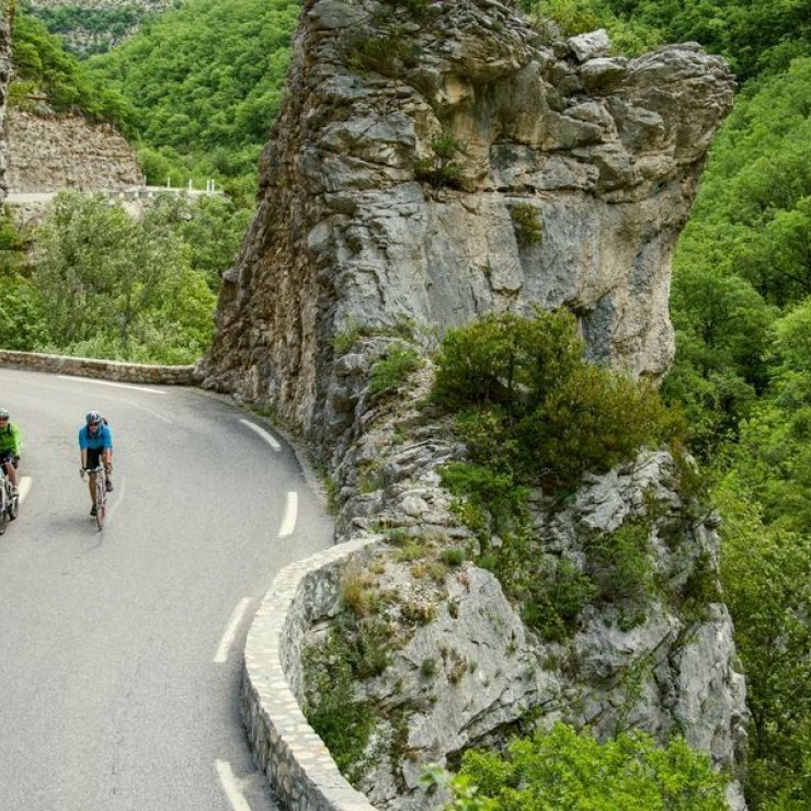 Circuit cyclo Les Gorges de la Méouge - Les Gorges de la Méouge (Copyright : Communauté de Communes du Sisteronais Buëch)
