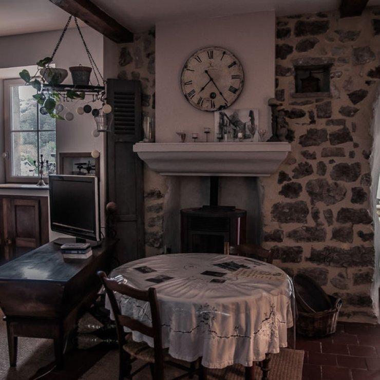 Au Bonheur des Cousines - le haut - salle à manger (Copyright : Rémi Calvain)