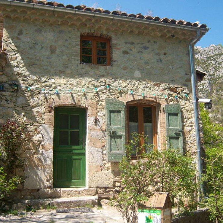 Ferme de la Montagne - Façade Chambre La Pastorale (Copyright : C. Lanteaume)