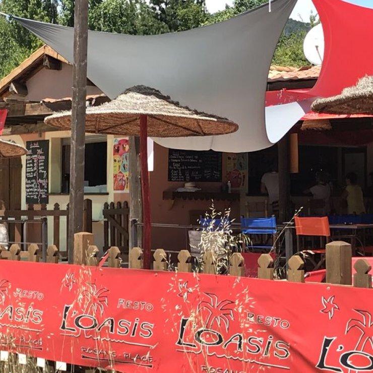 Brasserie l'Oasis - Brasserie l'Oasis (Copyright : Office de tourisme Sisteron Buech)