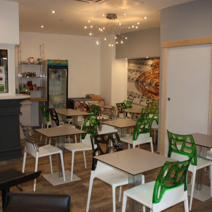 Brasserie l'Entre Potes à Sisteron - La salle (Copyright : L'Entre Potes)