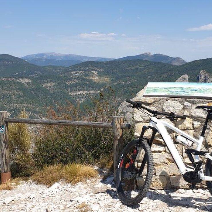 Alain Coach Cycling - Rando VTTAE au Saint Michel, au dessus d'Orpierre (Copyright : Alain Broglia)