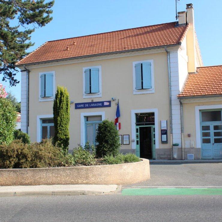 Gare SNCF de Laragne (Copyright : Mairie de Laragne)