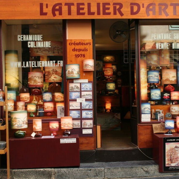 L'atelier d'art, la boutique (Copyright : Desreumaux)